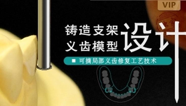 图片 可摘局部义齿修复工艺技术
